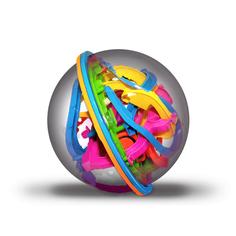 Головоломка Шар-лабиринт 19 см Track Ball 3D