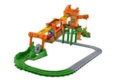 Наборы игрушечных железных дорог, локомотивы, вагоны Переправа на туманном острове Fisher Price