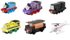 Наборы игрушечных железных дорог, локомотивы, вагоны Маленький паровозик Fisher Price