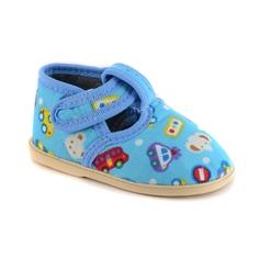 Туфли комнатные малодетские для мальчика Домашки