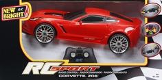 Машина Corvette Z06 радиоуправляемая NEW Bright