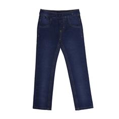 Брюки-джинсы для девочки Яркий день синие Barkito