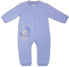 Комбинезон для мальчика С открытой стопой Сладкие сны голубой Barkito