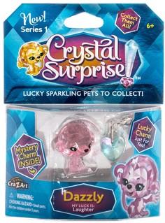 Фигурка Обезьянка с подвеской Crystal Surprise