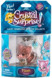 Фигурка Лисенок с подвеской Crystal Surprise