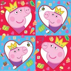Салфетки Peppa Pig 20 шт.