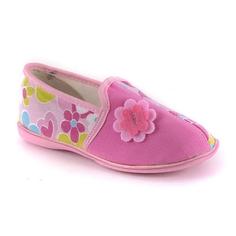 Туфли Домашние дошкольные розовые Домашки