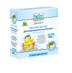 Соль для ванны Sensitive с целебными травами Babyline