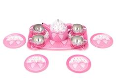 Игровой набор металлической посуды Розовый бант Mary Poppins