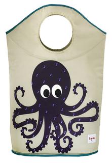 Корзина для белья Purple Octopus 3 Sprouts