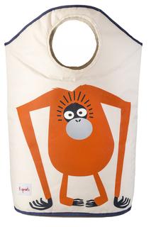 Корзина для белья Orange Orangutan 3 Sprouts