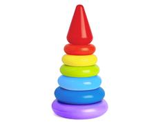 Пирамида Семицветик РосИгрушка
