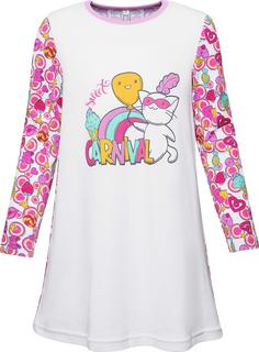 Сорочка ночная для девочки Сновидения белая Barkito