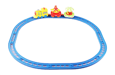 Наборы игрушечных железных дорог, локомотивы, вагоны Карусель Наша Игрушка