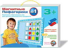 Настольная игра Магнитные Пифагорики N1 Десятое королевство