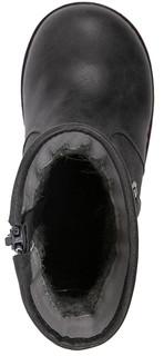 Резиновые сапоги для девочек темно-серые Barkito