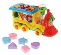 Развивающая игрушка Обучающий паровозик из Ромашково Umka