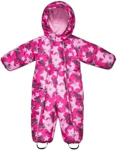 Комбинезон для девочки Розовый с рисунком звёзды Barkito