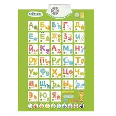 Электронный плакат Пластилиновая азбука Наша Игрушка