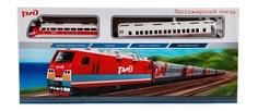 Железная дорога Пассажирский поезд РЖД Играем вместе