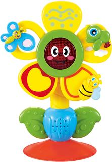 Развивающая игрушка Fun Flower музыкальная на присоске Happy Baby