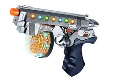 Игрушечное оружие и бластеры Пистолет штурмовой со светом и звуком A Btoys