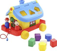 Сортеры для малышей Садовый домик на колёсиках Русский Стиль