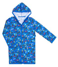 Халат для мальчика Цвет голубой с рисунком Barkito