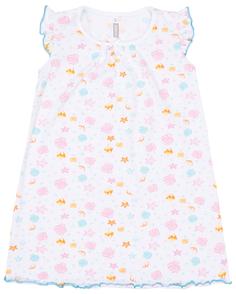 Сорочка ночная для девочки Сновидения, цвет белый Barkito