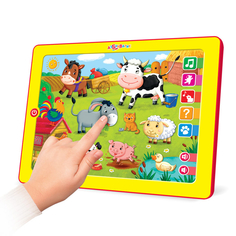 Развивающая игрушка Планшетик Музыкальная ферма Азбукварик