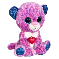 Мягкая игрушка Глазастик: Леопард 22 см Fancy