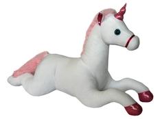 Мягкая игрушка «Единорог Снежка» 70 см СмолТойс