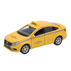 Машинка Lada Vesta такси Welly