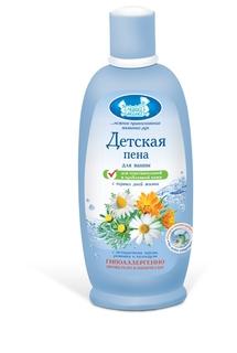 Пена для ванны для чувствльной кожи Наша Мама