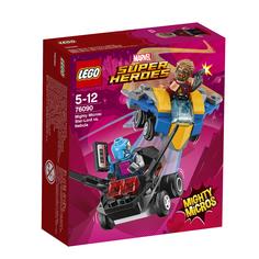 Конструктор 76090 Звёздный Лорд против Небулы Lego