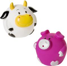 Детские игрушки для ванной Кругляши с фермы КУРНОСИКИ