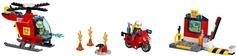 Конструктор Juniors 10685 Чемоданчик Пожар Lego