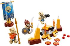 Конструктор Legends 70229 Of Chima Лагерь Клана Львов Lego