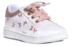 Ботинки для девочки белые Barkito