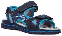 сандалии для мальчика синий с голубым Barkito