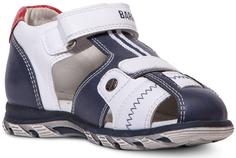 сандалии для мальчика синий с белым Barkito