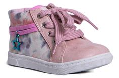 Ботинки для девочки Светло-розовые Barkito