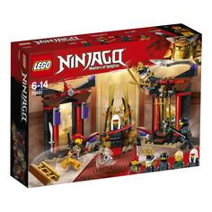 Конструктор Решающий бой в тронном зале Lego