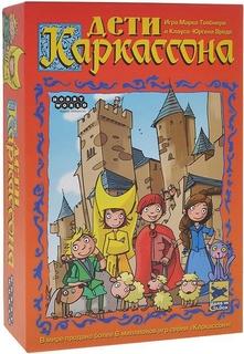 Настольная игра «Дети Каркассона. Второе издание» Hobby World