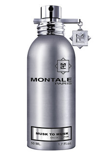 Парфюмерная вода musk to musk Montale