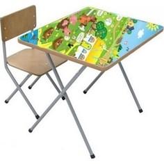 Комплект детской мебели Фея Фея досуг №101 Веселая ферма, (стол+стул) 90100231071