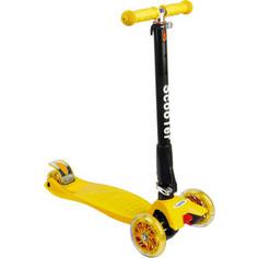 Самокат 3-х колесный Leader Kids Cruise 208F Yellow (желтый) GL000712554