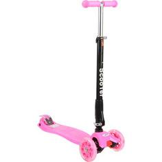 Самокат 3-х колесный Leader Kids Cruise 208F Pink (розовый) GL000712552