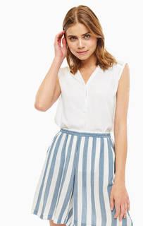 Блуза Белая блуза из вискозы B.Young