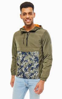 Куртка-анорак с камуфляжным принтом Tom Tailor Denim